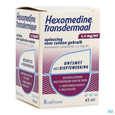 Hexomedine Sol 45ml Transcut