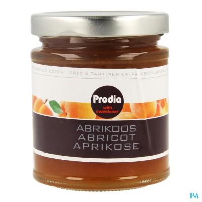 Prodia Broodbeleg Extra Abrikoos Maltitol 215g