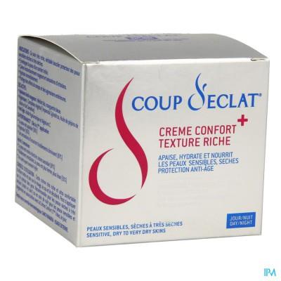 Coup D'eclat Comfortcreme + Rijke Textuur Pot 50ml