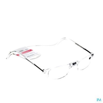 Clipyreader Bril +1.50 Transparant