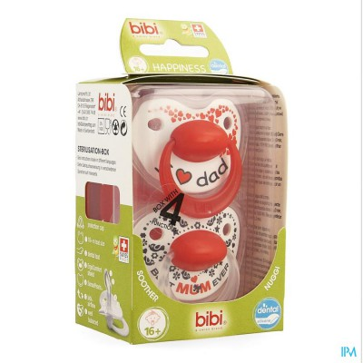 Bibi Fopspeen Hp Dental Duo Mama Papa +16m 2