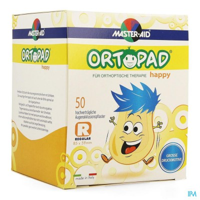 Ortopad Happy Regular Oogkompres 50 70134