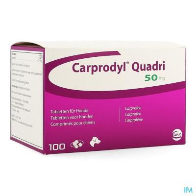 Carprodyl Quadri 50mg Comp 100