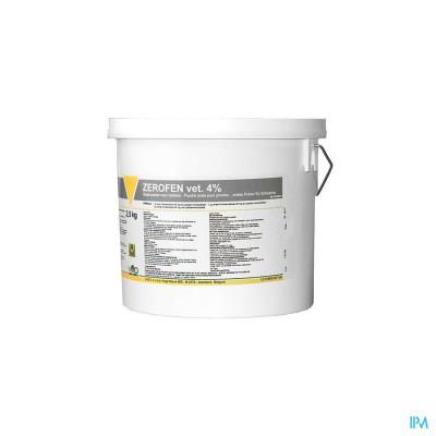 Zerofen Vet 4% Pdr 2,5kg