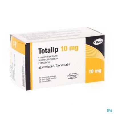 Totalip 10mg Pfizer Filmomh Tabl 100 X 10mg