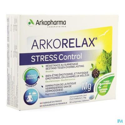 Arkorelax Stress Control Comp 30