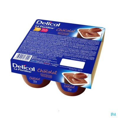 Delical Creme Dessert La Floridine Chocola 4x125g