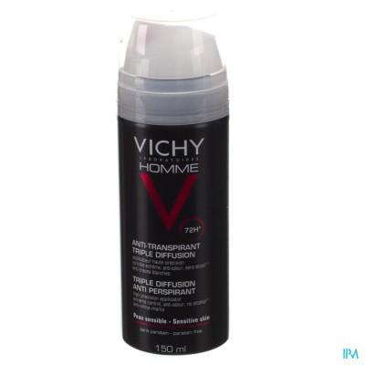 Vichy Homme Deo Tri-spray 72u 150ml
