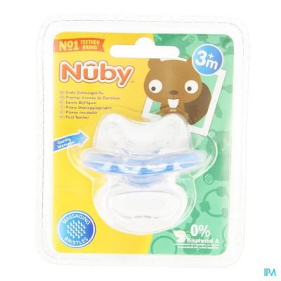 Nûby Silicone bijtspeen Gum-Eez™ - 0m+