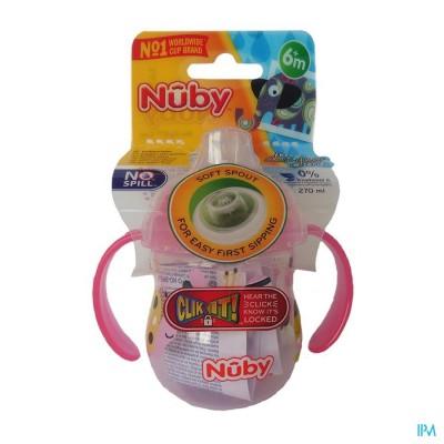 Nûby Designer Series Antilekbeker met handvatten - 270ml - 6m+