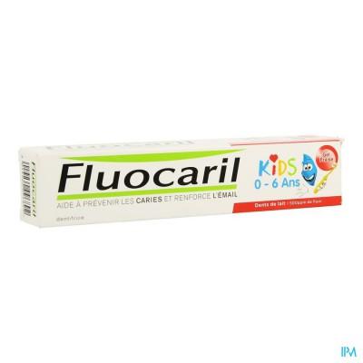 Fluocaril Kids Aardbei 50ml