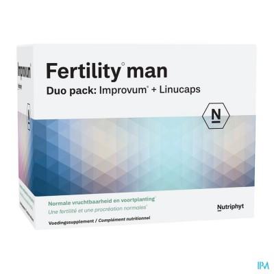 Fertility Man DUO 60 TAB IMPROVUM + 60 SOFTGELS LINUCAPS