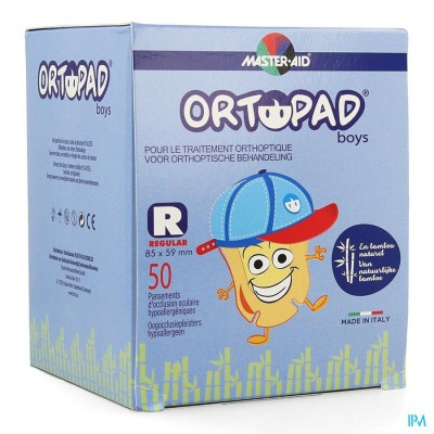 Ortopad Regular For Boys Oogpleister 50 73324