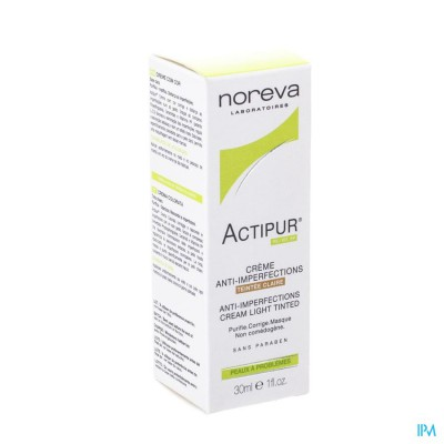 Actipur Cr A/imperfect.teintee Claire Nf Tube 30ml