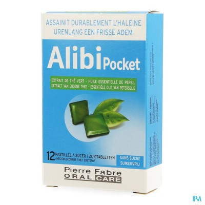 Alibi Pocket Zuigtabl 12