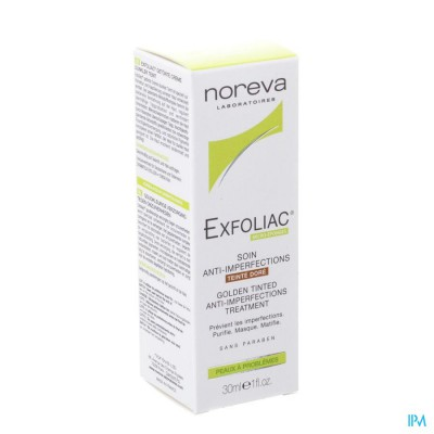 Exfoliac Ai Verzorging Bruine Tint Tube 30ml