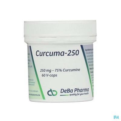 Curcuma-250 Caps 120 Deba