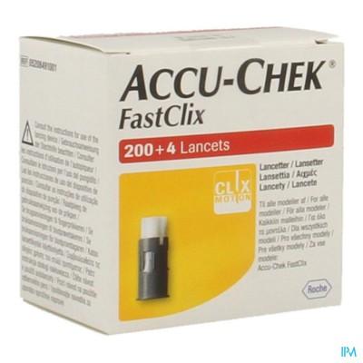 Accu Chek Mobile Fastclix Lancet 34x6 5208491001
