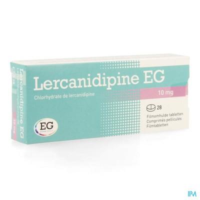 Lercanidipine Eg 10mg Filmomh Tabl 28 X 10mg