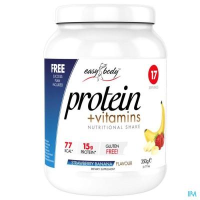 Easy Body Protein Strawberry/banana, 350g