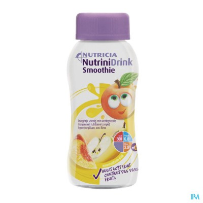 Nutrinidrink Smoothie Zomerfruit Fl 200ml