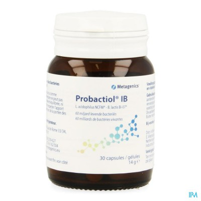 Probactiol Ib Nf Pot Caps 30 21775 Metagenics