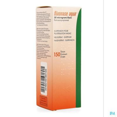 Flixonase Aqua 50mcg Pi Phar Neusspray Dos 150 Pip