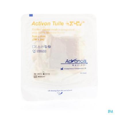Activon Tulle Verband N/adh 5x 5cm 1