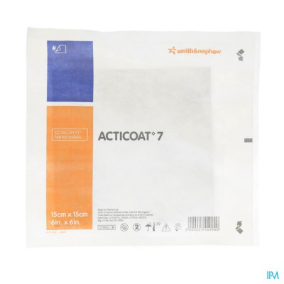 Acticoat 7 Verb Individuel 15x15,0cm 66000797