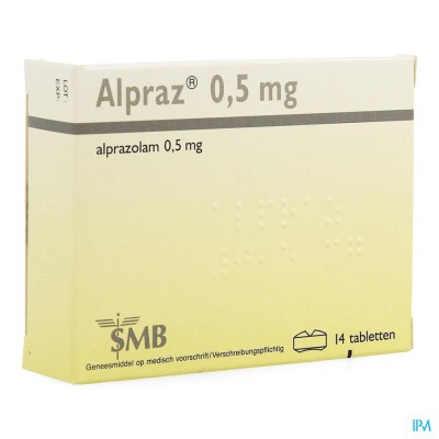 Alpraz Comp 14x0,5mg