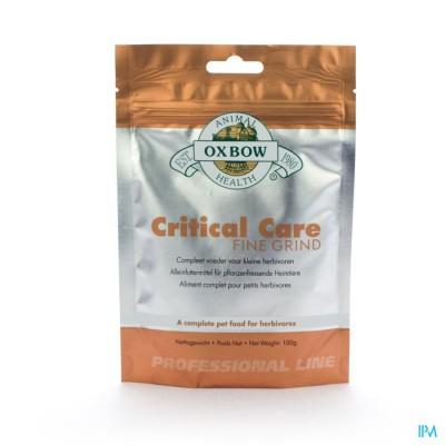 Critical Care Fine Grind Pdr Zakje 100g