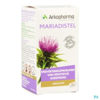 Arkocaps Mariadistel Plantaardig 45 Cfr 4137865