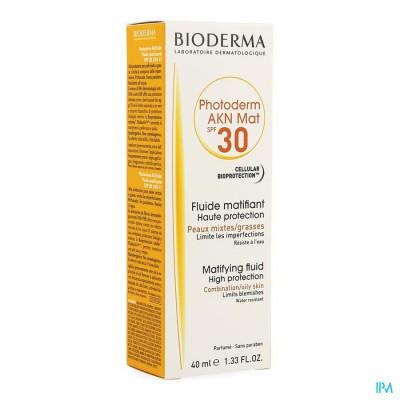 Bioderma Photoderm Akn Mat Ip30 Fluide 40ml