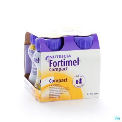 Fortimel Compact Banaan 4x125ml