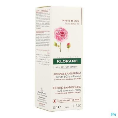 Klorane Capil. Spray Sos Irrit.pivoine 65ml