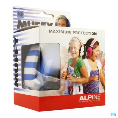 Alpine Muffy Koptelefoon Kids Blauw/wit