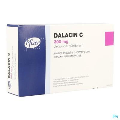 Dalacin C 5 Amp 300mg 2ml