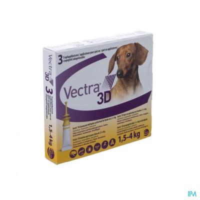 Vectra 3d Opl Spot-on Hond Pipet 3x0,8ml