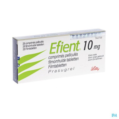 Efient Comp Pell 28 X 10mg