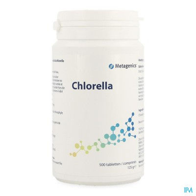 Chlorella Comp 500x250mg Metagenics