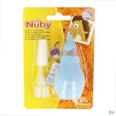 Nuby Neuspeer & Oorreiniger - 0m+