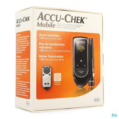Accu Chek Mobile Startkit (50tests+meter+prikker)