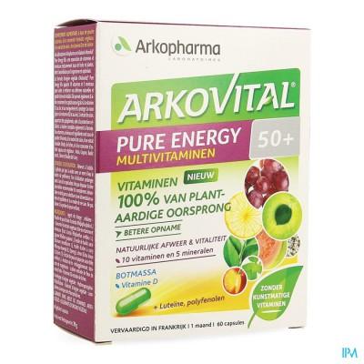 Arkovital Pure Energy 50+ Caps 60