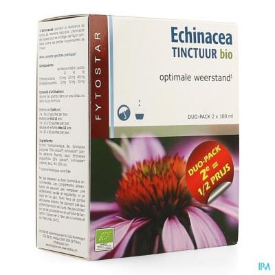 Fytostar Echinacea Tinctuur Bio Duo2x100ml 2e -50%