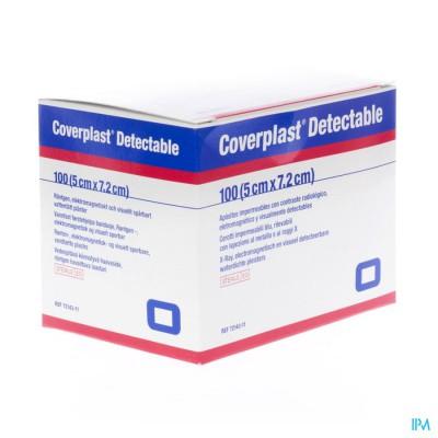 Coverplast Detectable Eerstehulppl. 5,0x7,2cm 100