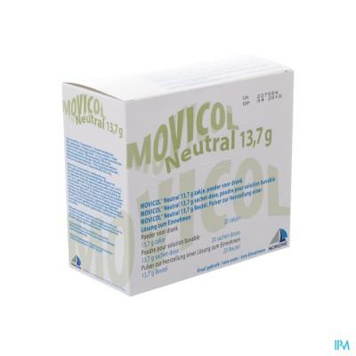 Movicol Impexeco Neutral Pdr Zakje 20x13,7g Pip