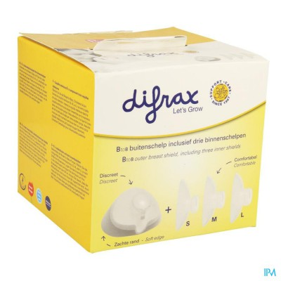 Difrax Btob Borstschelp 616