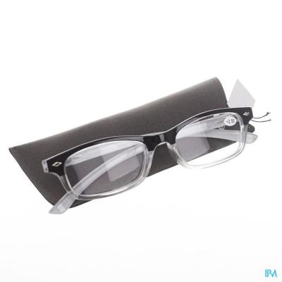 Pharmaglasses Leesbril Diop.+2.50 Grey