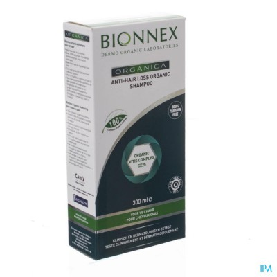 Bionnex Organica A/hair Loss Sh Vet Haar Fl 300ml