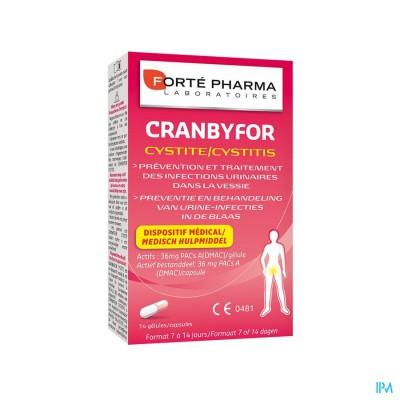 Cranbyfor Cystitis Caps 14